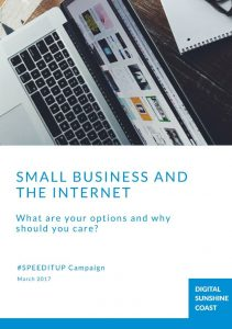 Small Business and the internet_front page