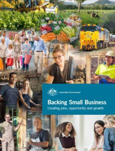 Backing Small Business